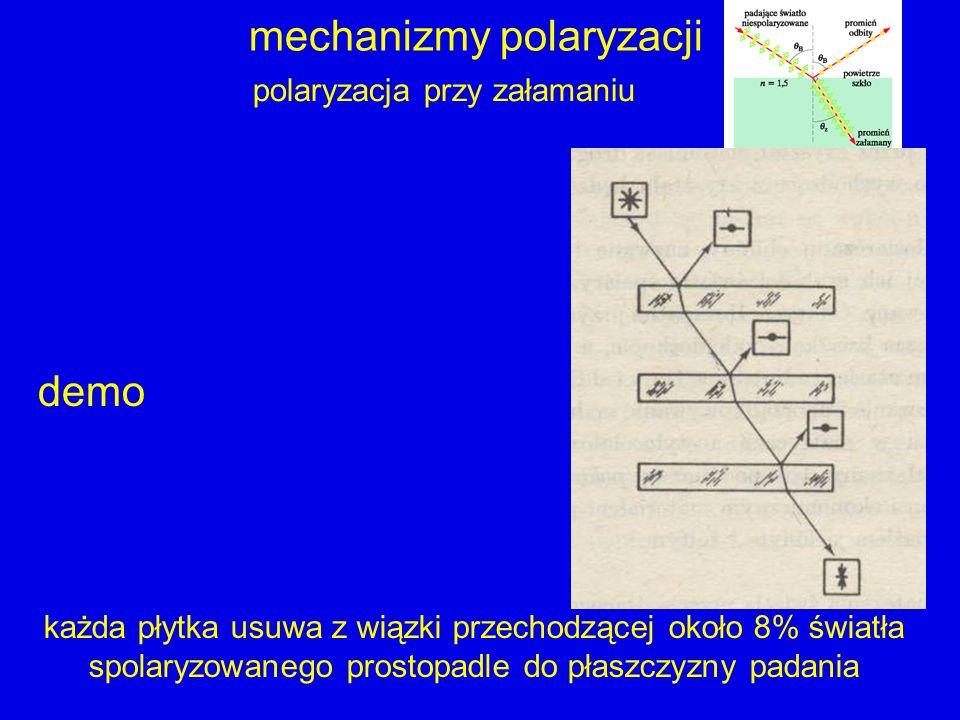 mechanizmy polaryzacji