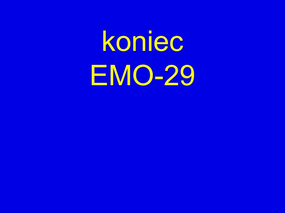 koniec EMO-29