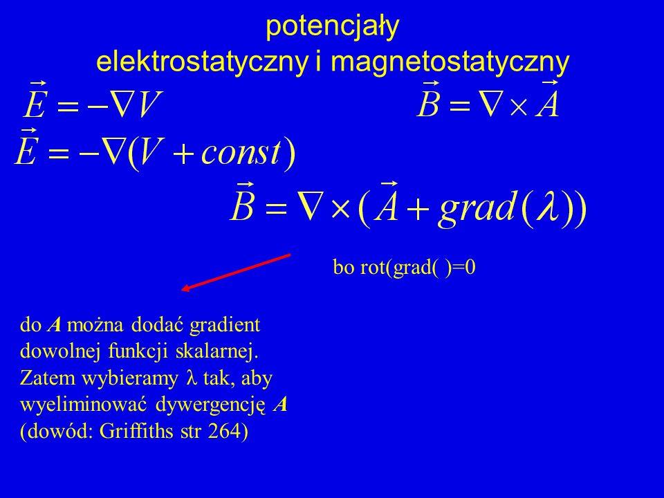 elektrostatyczny i magnetostatyczny