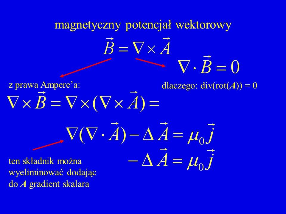 magnetyczny potencjał wektorowy
