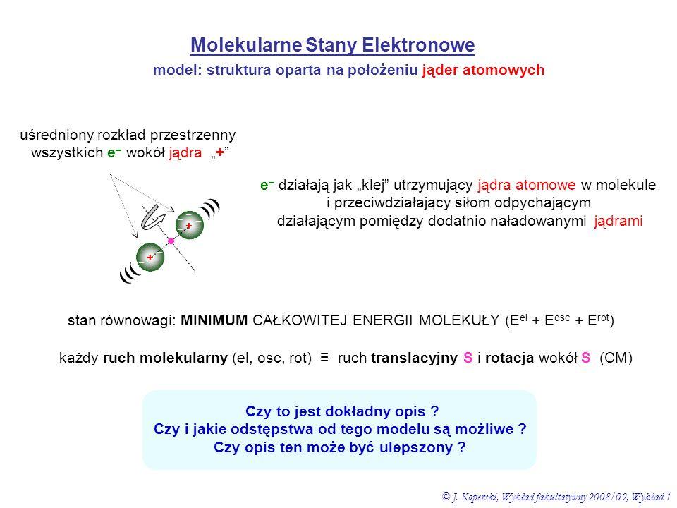Molekularne Stany Elektronowe