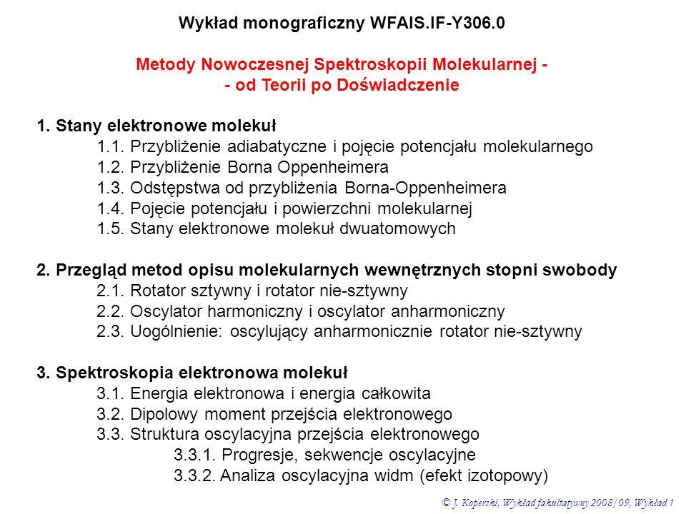 Wykład monograficzny WFAIS.IF-Y306.0