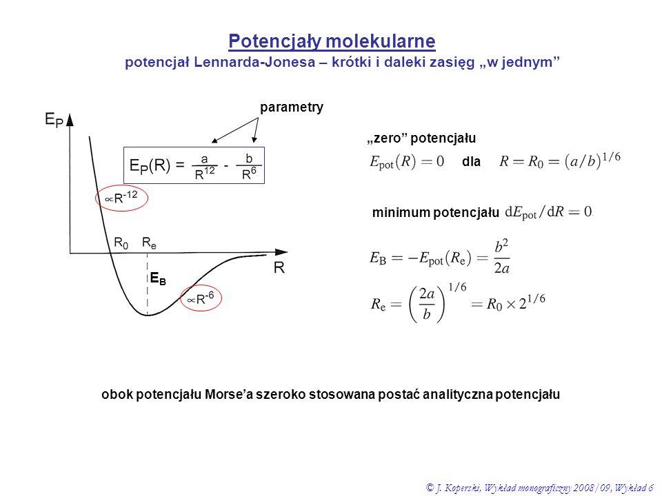 Potencjały molekularne