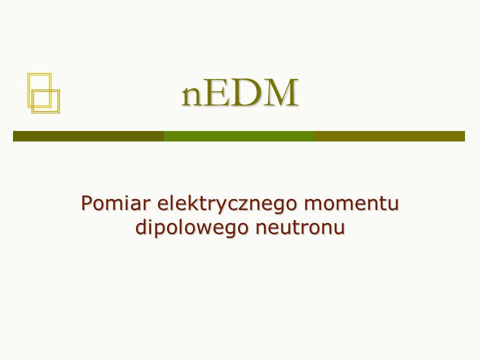 Pomiar elektrycznego momentu dipolowego neutronu