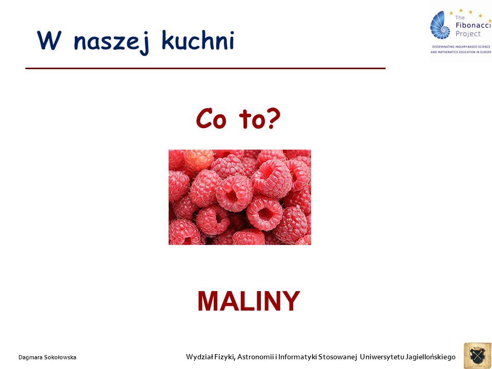 W naszej kuchni Co to MALINY