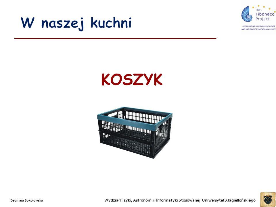 W naszej kuchni KOSZYK. Dagmara Sokołowska.