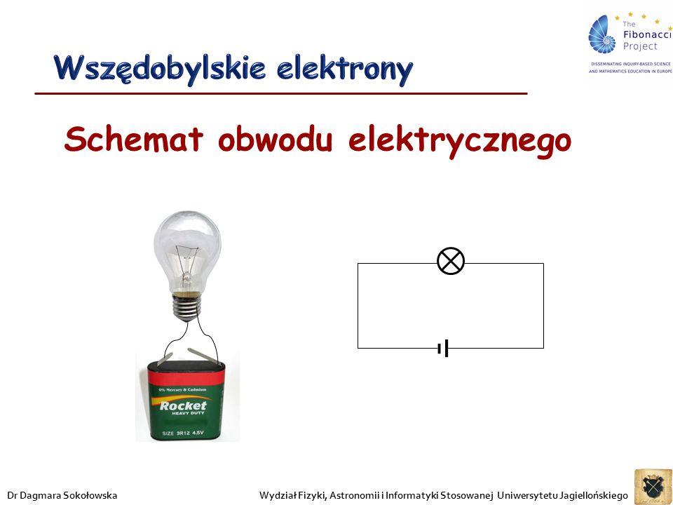 Wszędobylskie elektrony Schemat obwodu elektrycznego