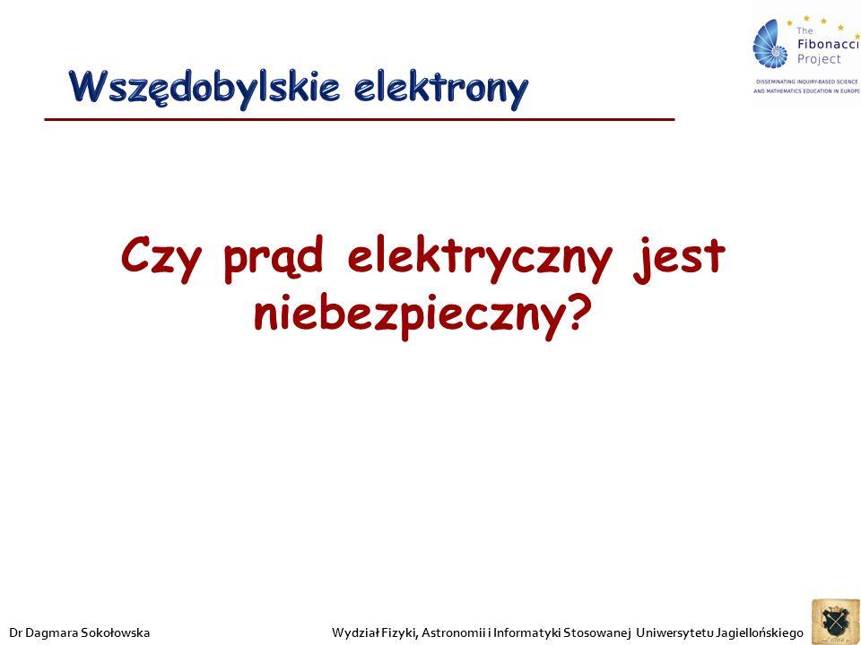 Wszędobylskie elektrony Czy prąd elektryczny jest niebezpieczny