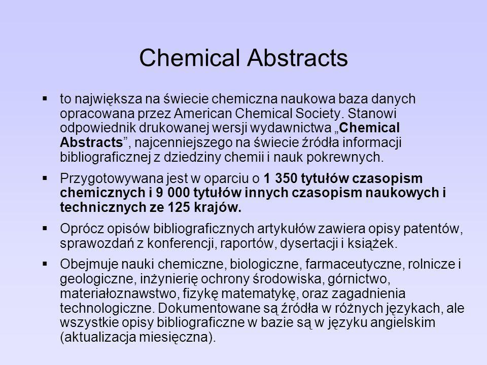 Chemical Abstracts