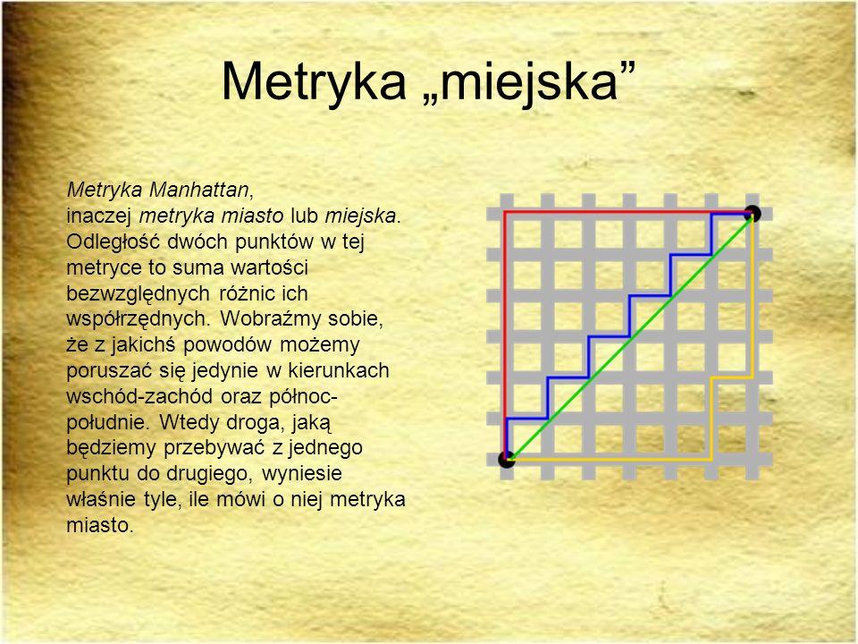 "Metryka ""miejska"