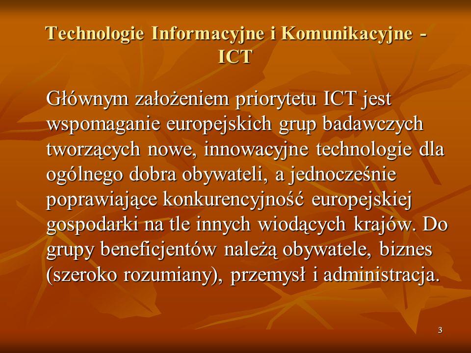 Technologie Informacyjne i Komunikacyjne - ICT
