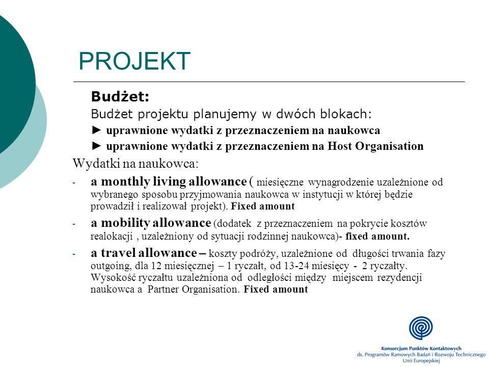PROJEKT Budżet: Wydatki na naukowca:
