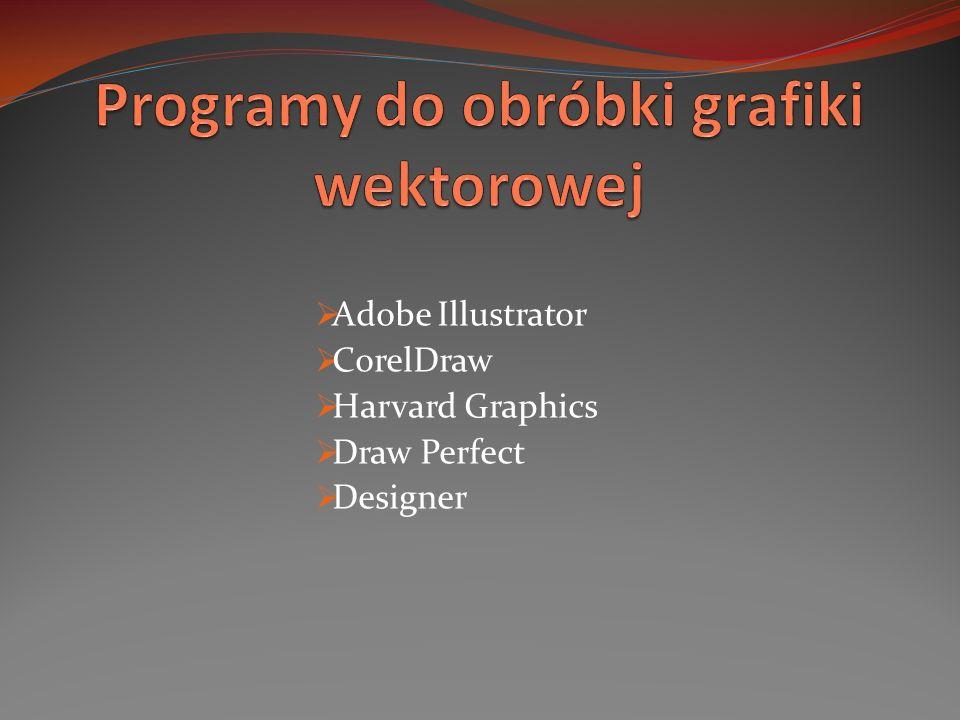 Programy do obróbki grafiki wektorowej