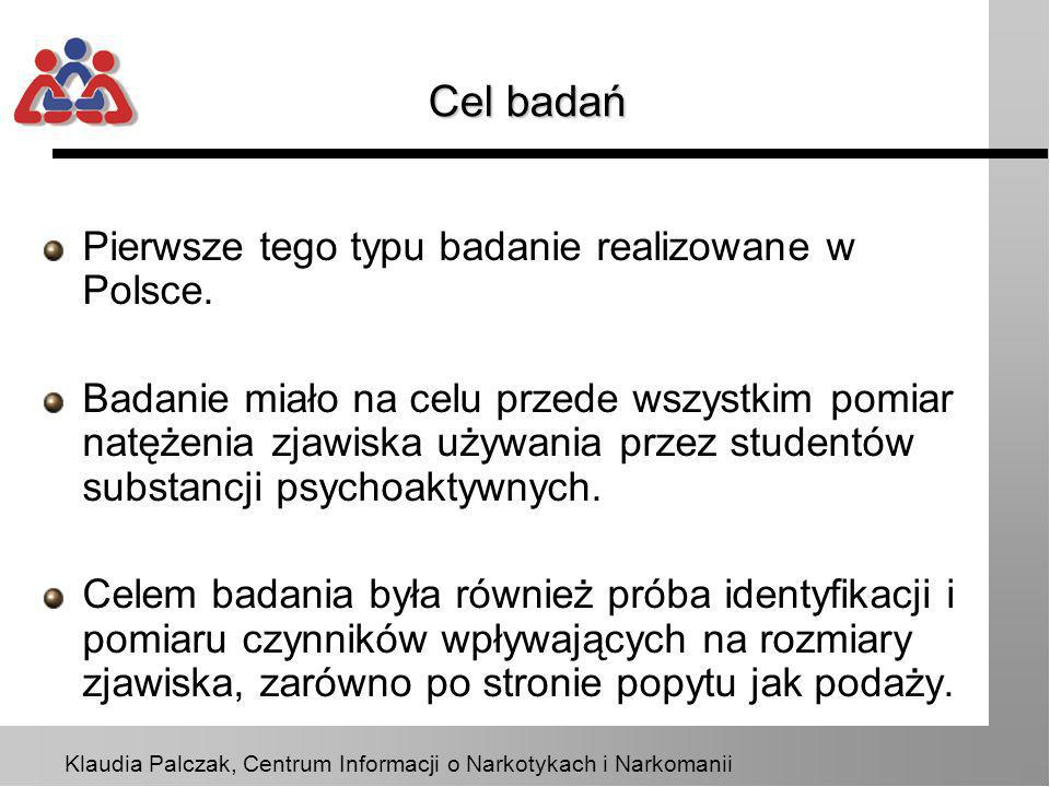 Cel badań Pierwsze tego typu badanie realizowane w Polsce.