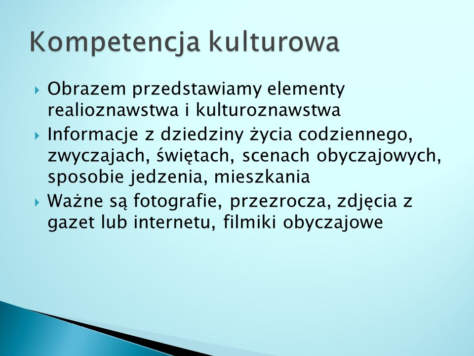 Kompetencja kulturowa