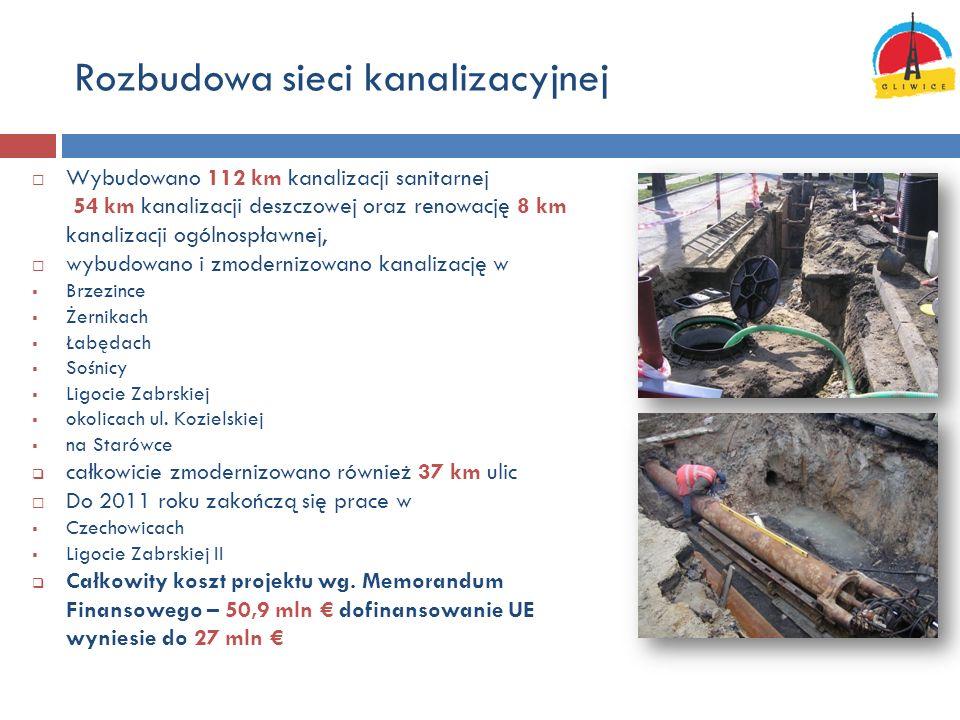 Rozbudowa sieci kanalizacyjnej