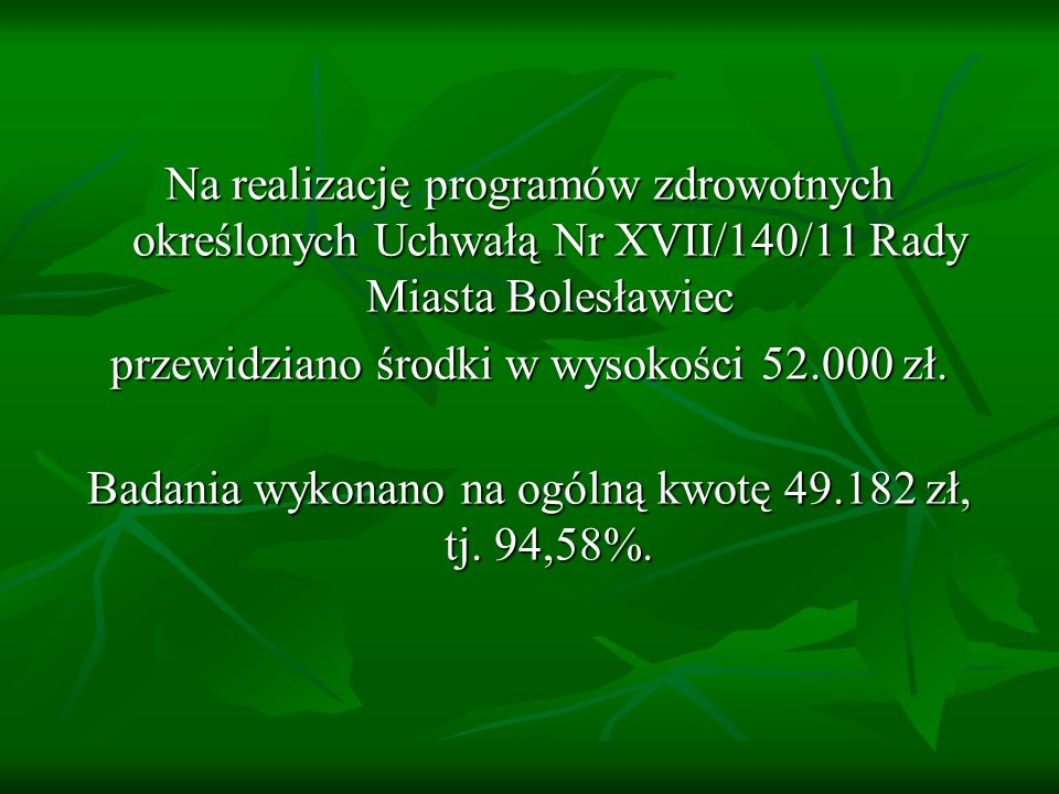 przewidziano środki w wysokości 52.000 zł.