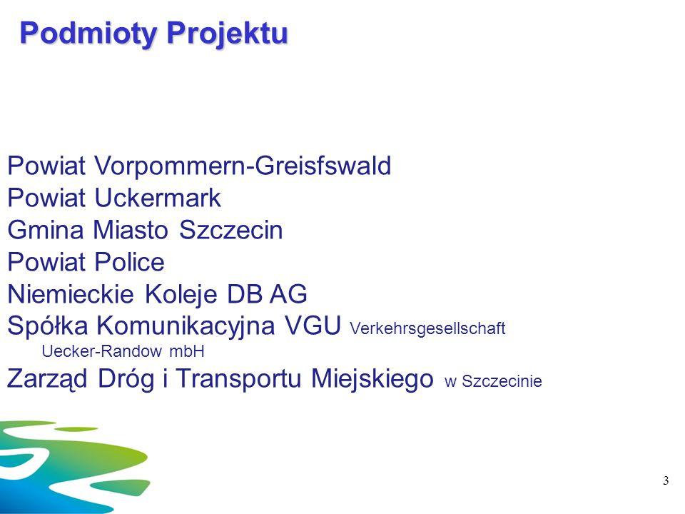 Podmioty Projektu Powiat Vorpommern-Greisfswald Powiat Uckermark