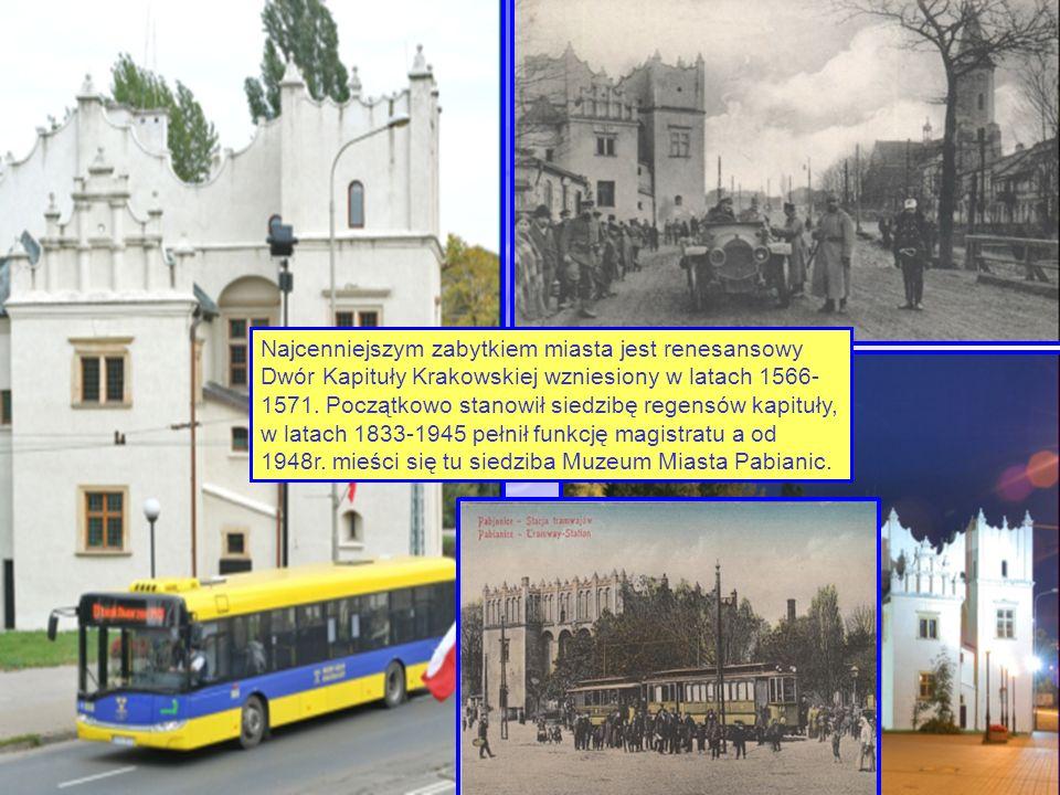 Najcenniejszym zabytkiem miasta jest renesansowy Dwór Kapituły Krakowskiej wzniesiony w latach 1566- 1571.