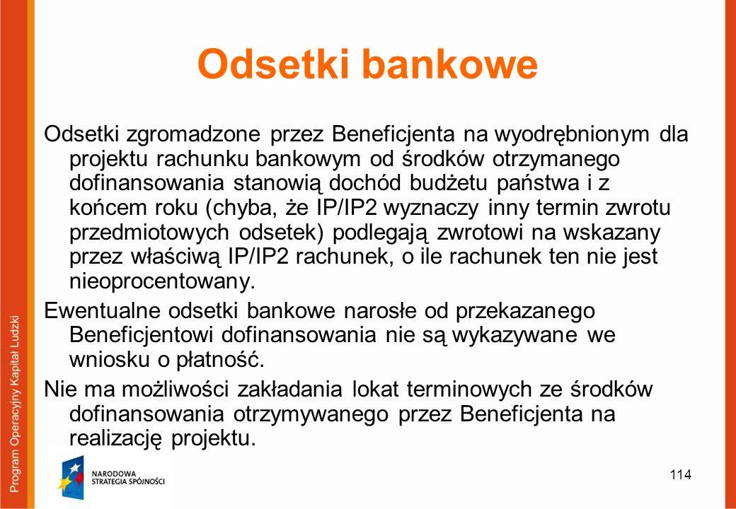 Odsetki bankowe