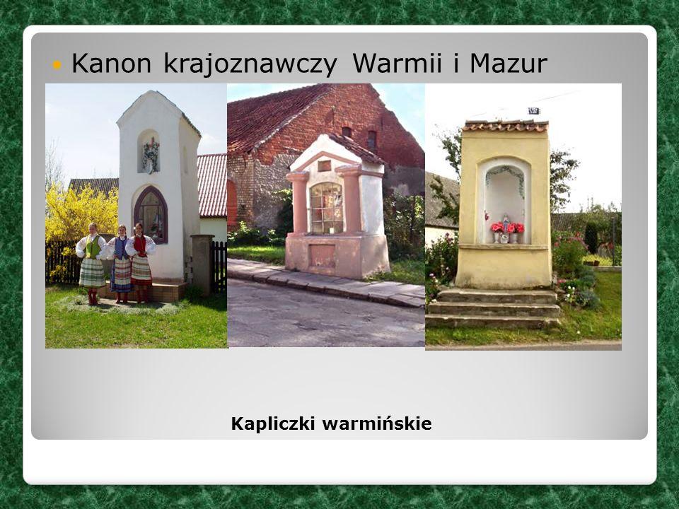 Kanon krajoznawczy Warmii i Mazur