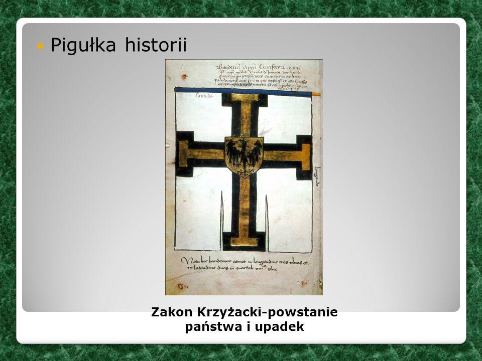 Zakon Krzyżacki-powstanie państwa i upadek