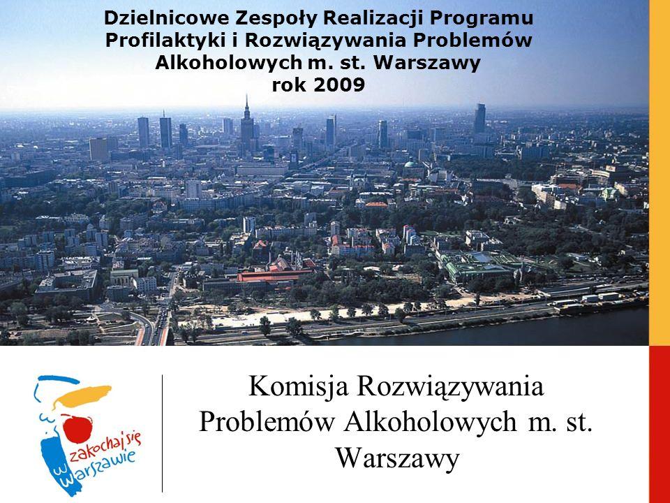 Komisja Rozwiązywania Problemów Alkoholowych m. st. Warszawy