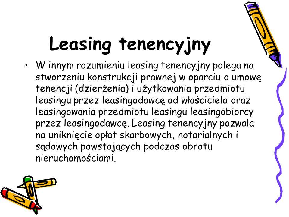 Leasing tenencyjny