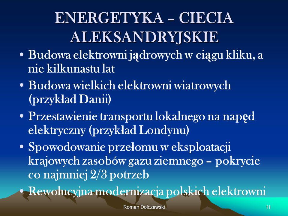 ENERGETYKA – CIECIA ALEKSANDRYJSKIE