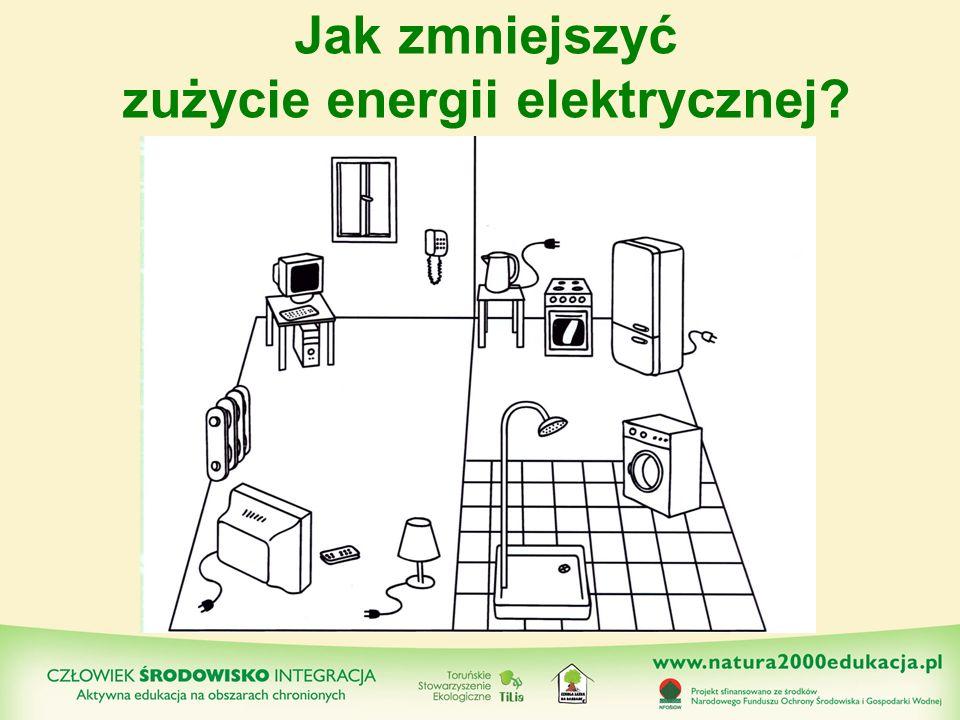 Jak zmniejszyć zużycie energii elektrycznej