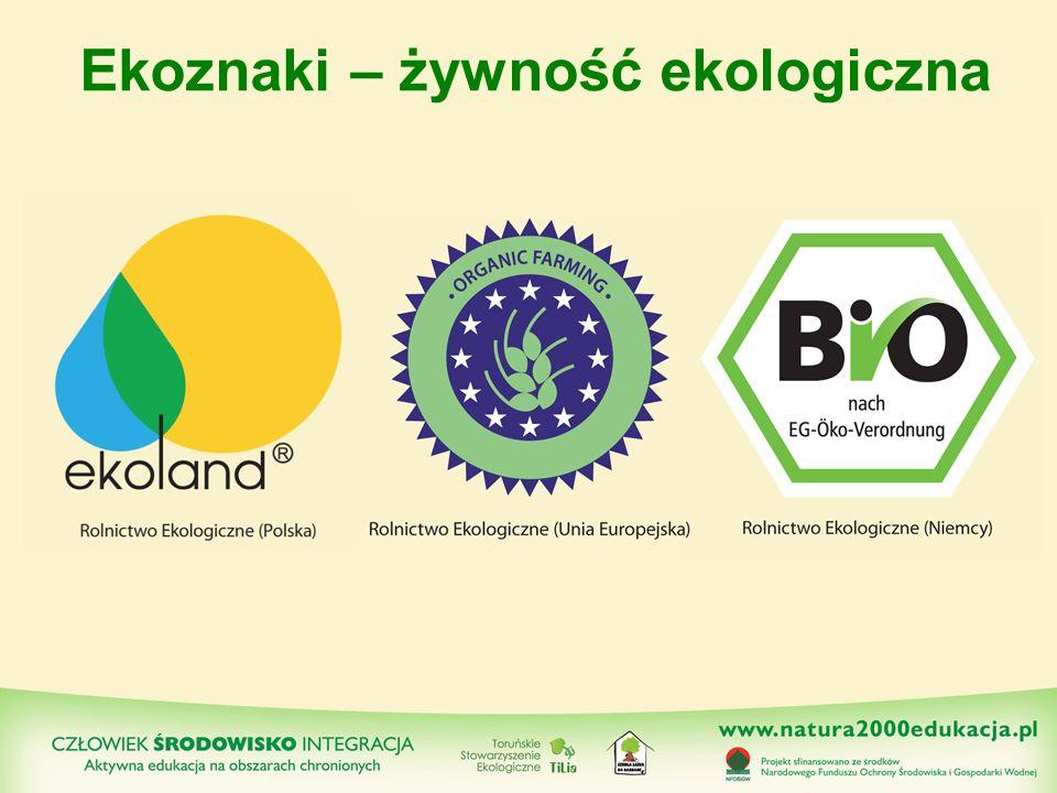 Ekoznaki – żywność ekologiczna