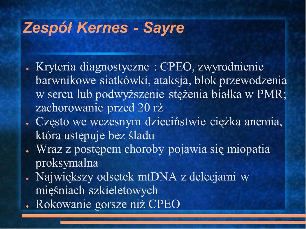 Zespół Kernes - Sayre