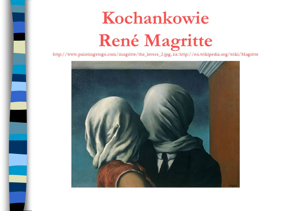 Kochankowie René Magritte http://www. paintingstogo