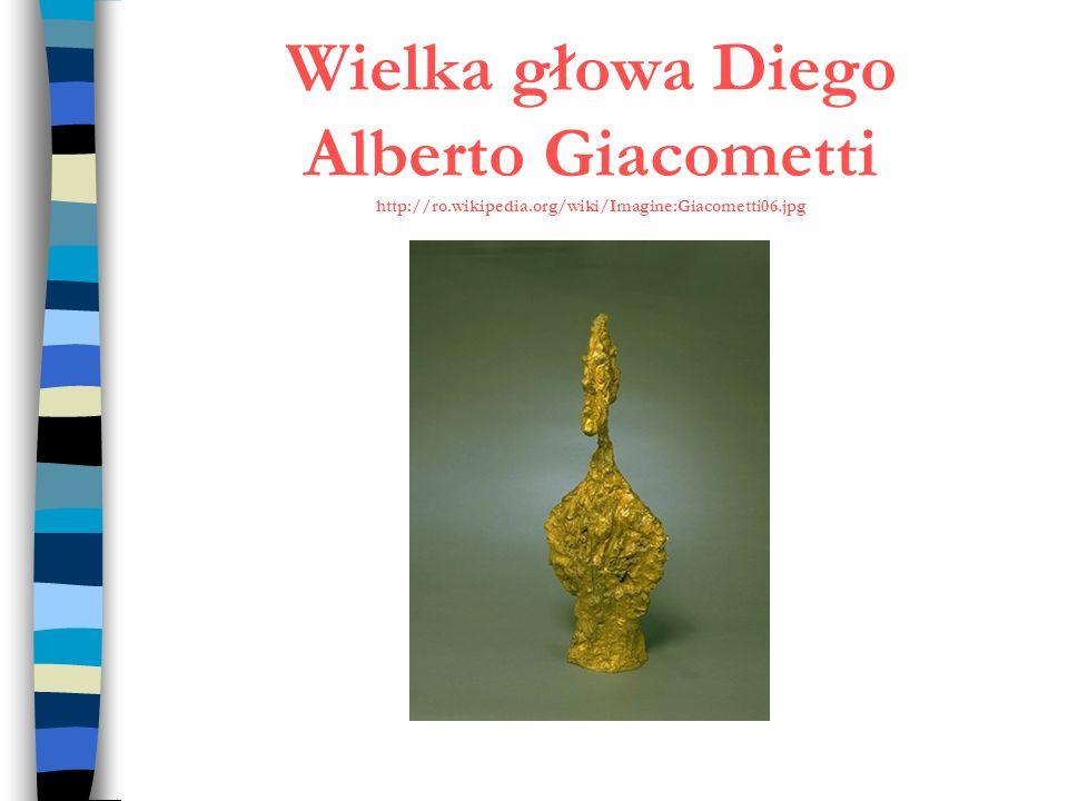 Wielka głowa Diego Alberto Giacometti http://ro. wikipedia