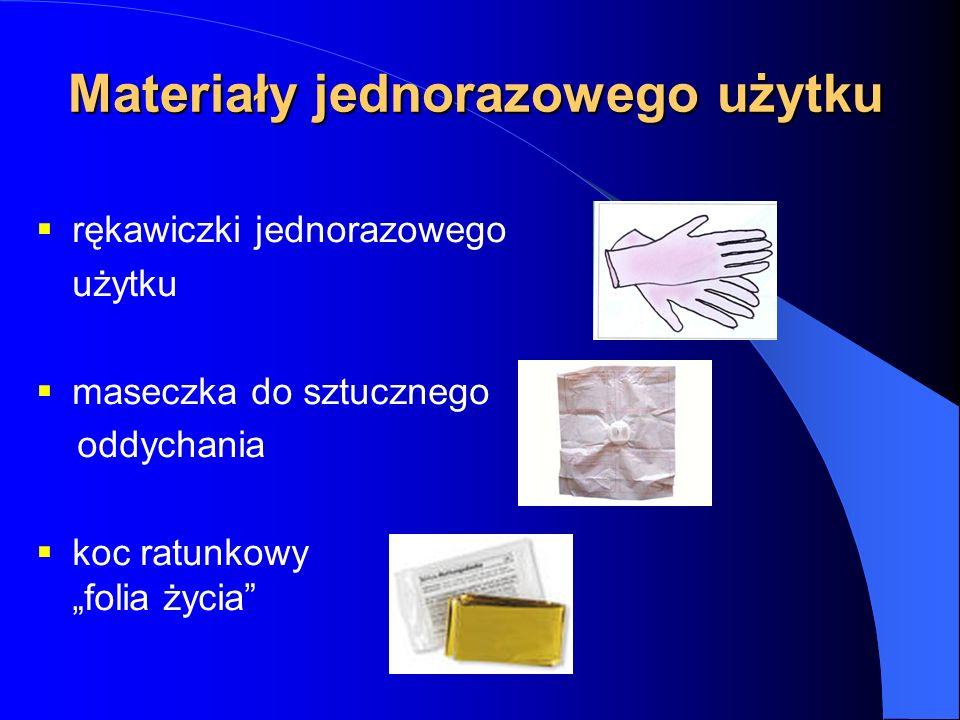 Materiały jednorazowego użytku