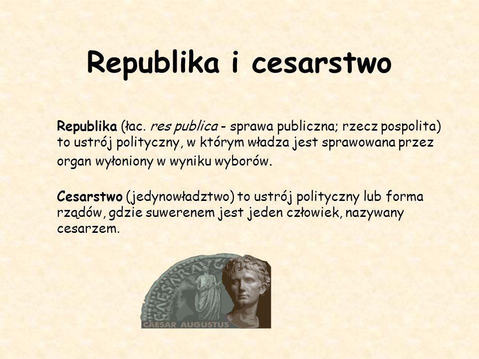 Republika i cesarstwo