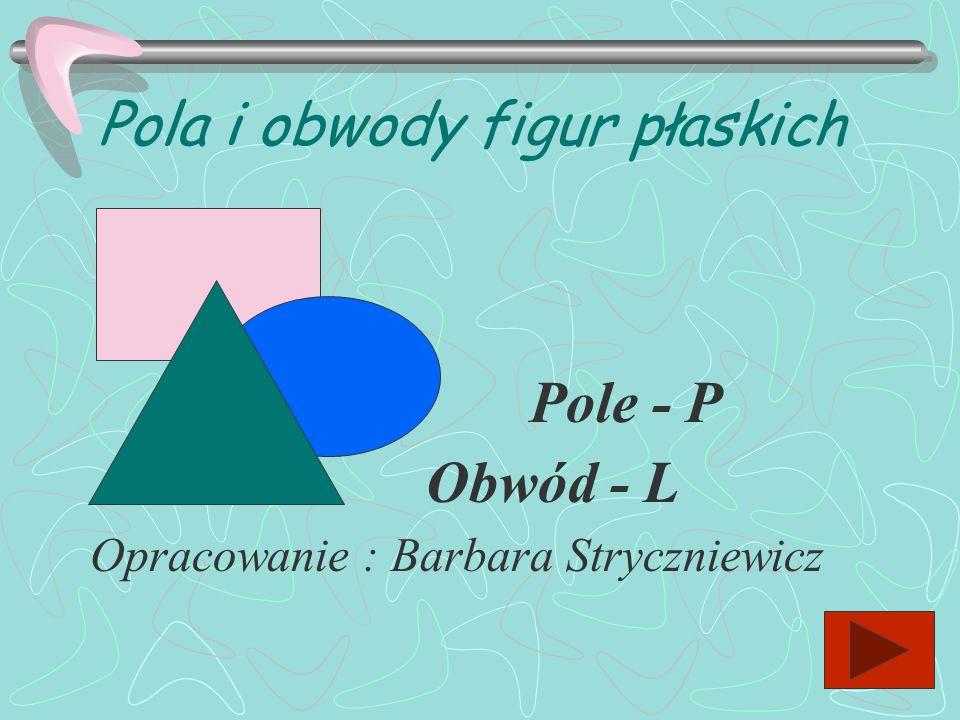 Pola i obwody figur płaskich