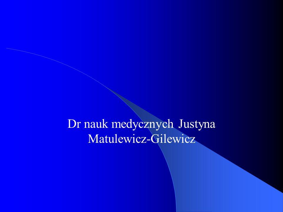 Dr nauk medycznych Justyna Matulewicz-Gilewicz