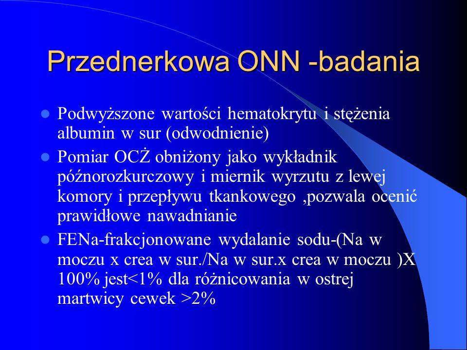 Przednerkowa ONN -badania