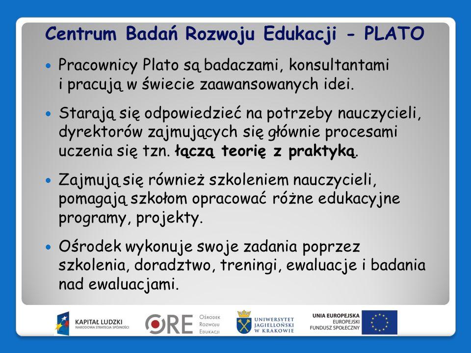 Centrum Badań Rozwoju Edukacji - PLATO