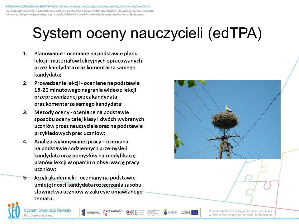 System oceny nauczycieli (edTPA)
