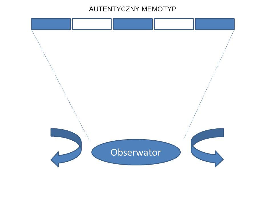 AUTENTYCZNY MEMOTYP Obserwator