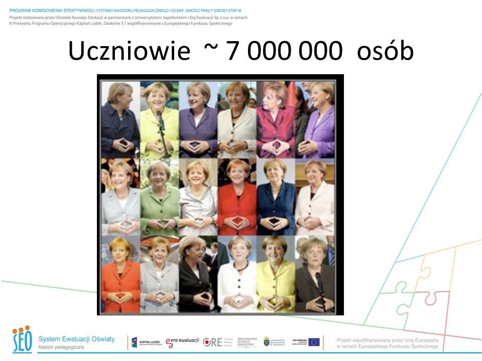 Uczniowie ~ 7 000 000 osób