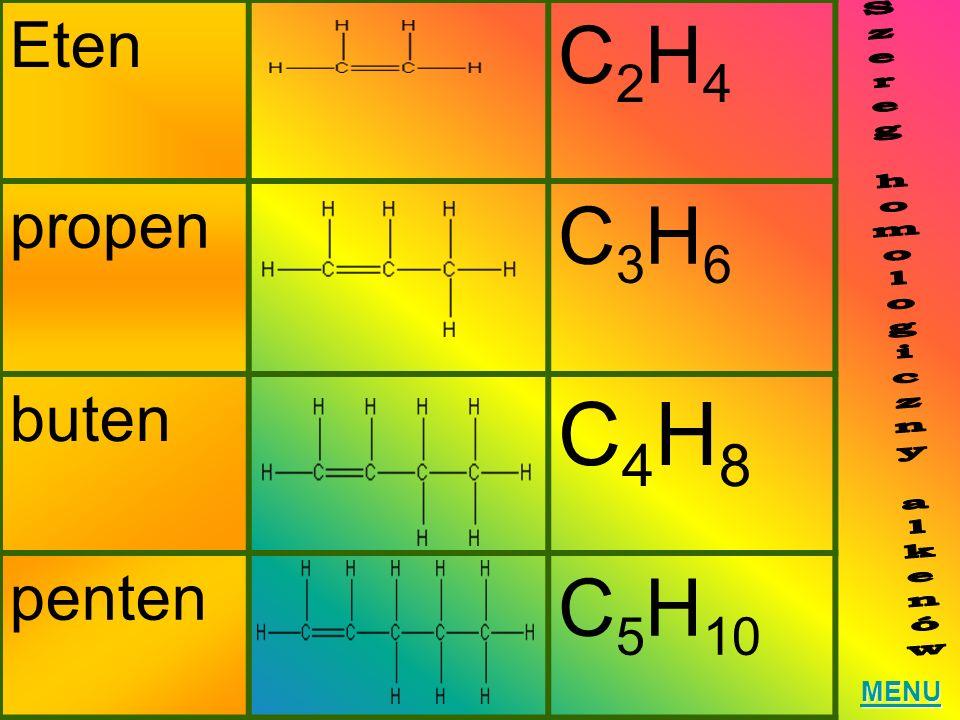 Szereg homologiczny alkenów