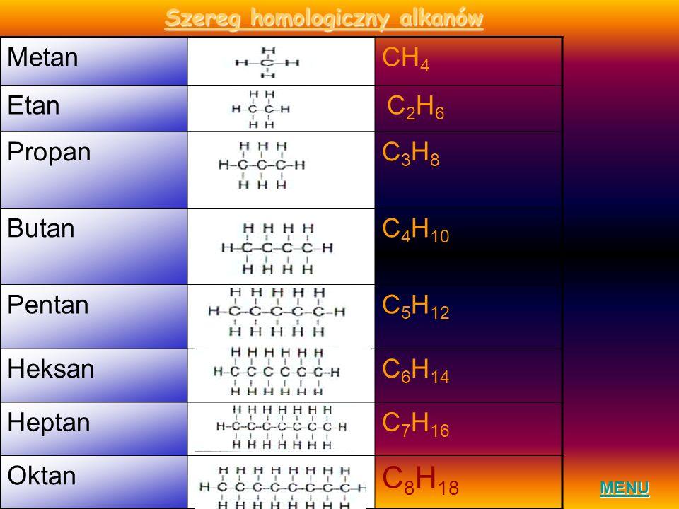 Szereg homologiczny alkanów