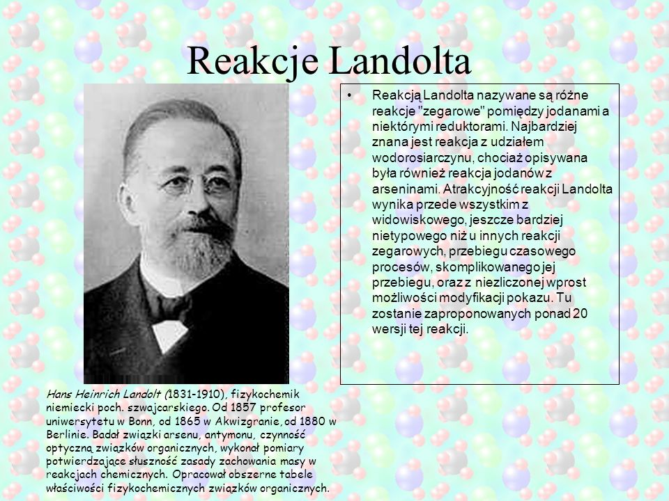 Reakcje Landolta