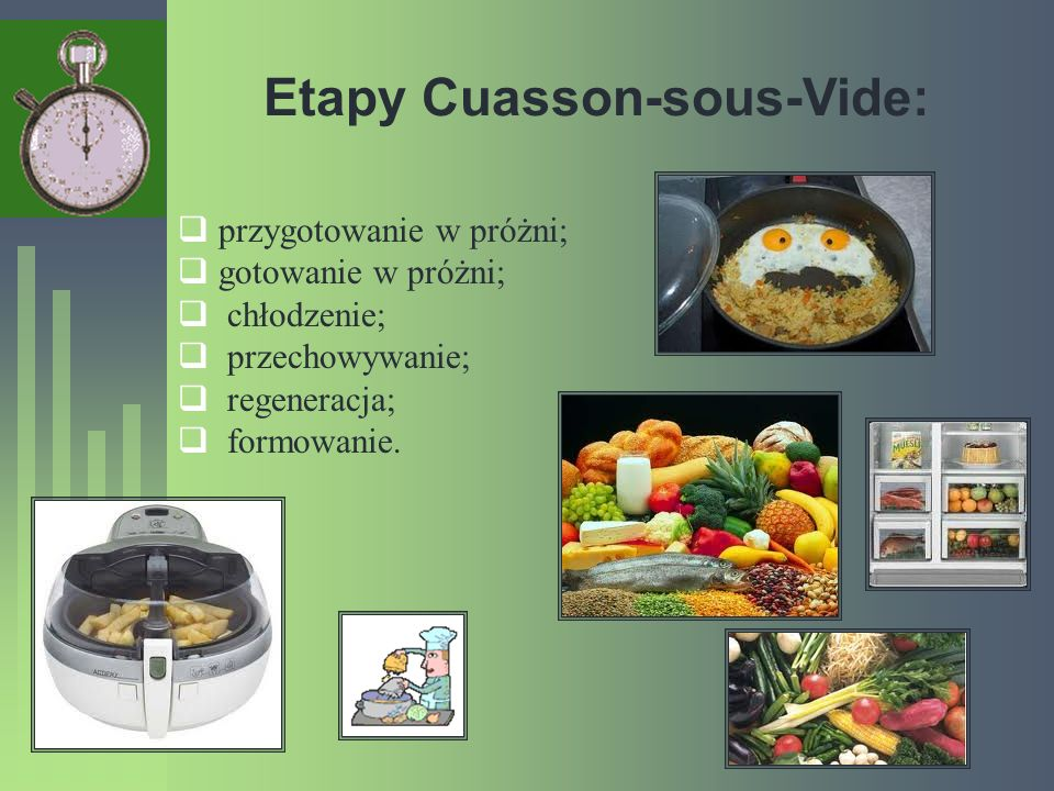 Etapy Cuasson-sous-Vide: