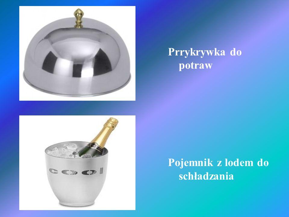 Prrykrywka do potraw Pojemnik z lodem do schładzania
