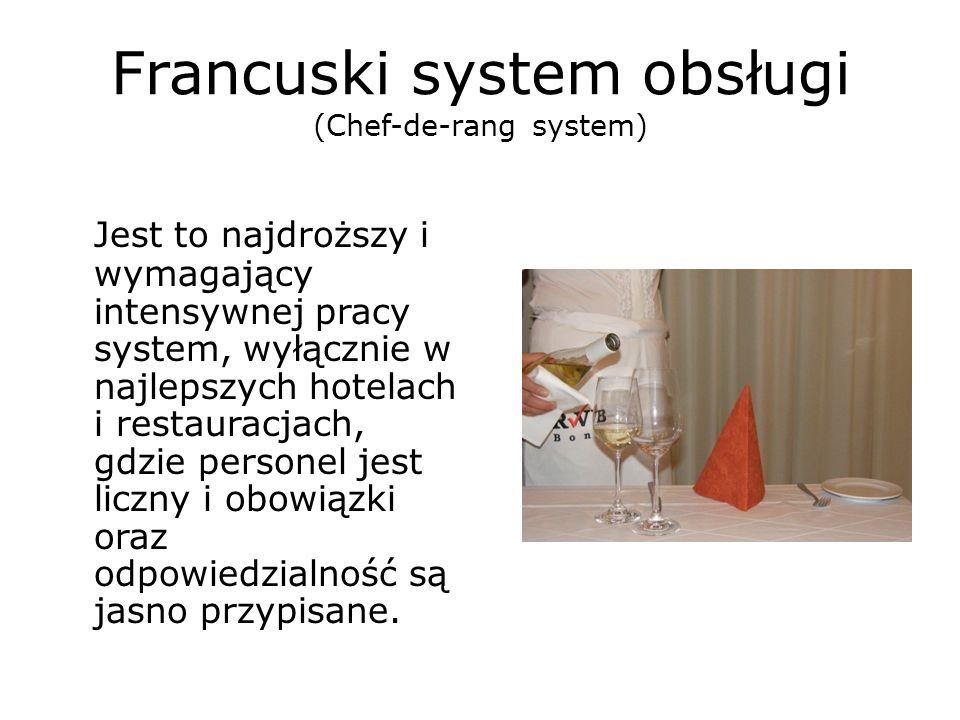 Francuski system obsługi (Chef-de-rang system)