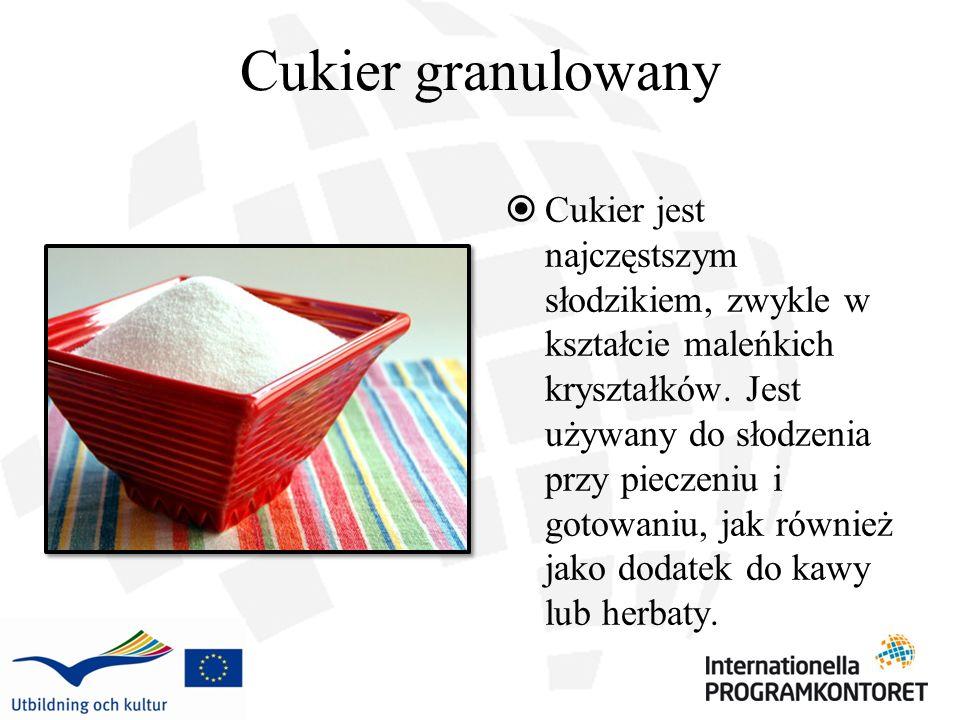 Cukier granulowany